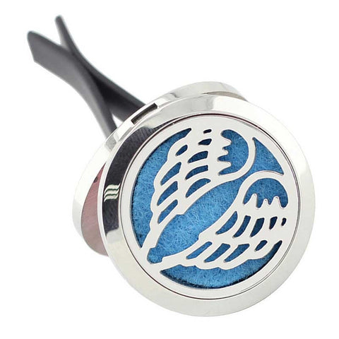 Angel Wings Aromatherapy Essential Oil Car Diffuser