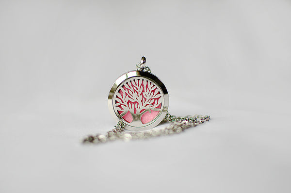 Scentz Tree of Life Aromatherapy Diffuser Locket Necklace