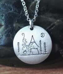 Camping Life Pendant