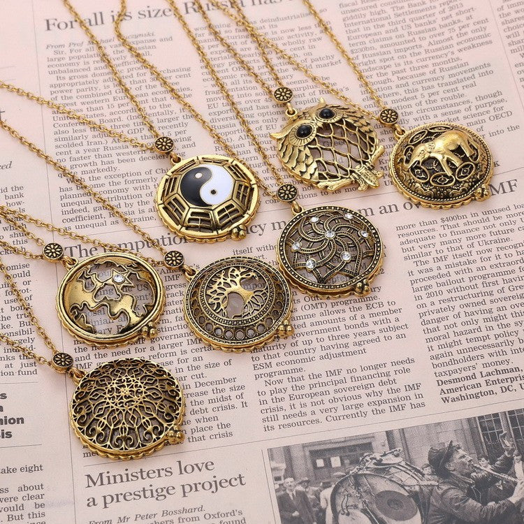 Antique Bronze Pendant Collection