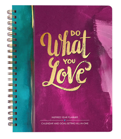 2019 Inspired Year Planner Softcover - Do What You Love
