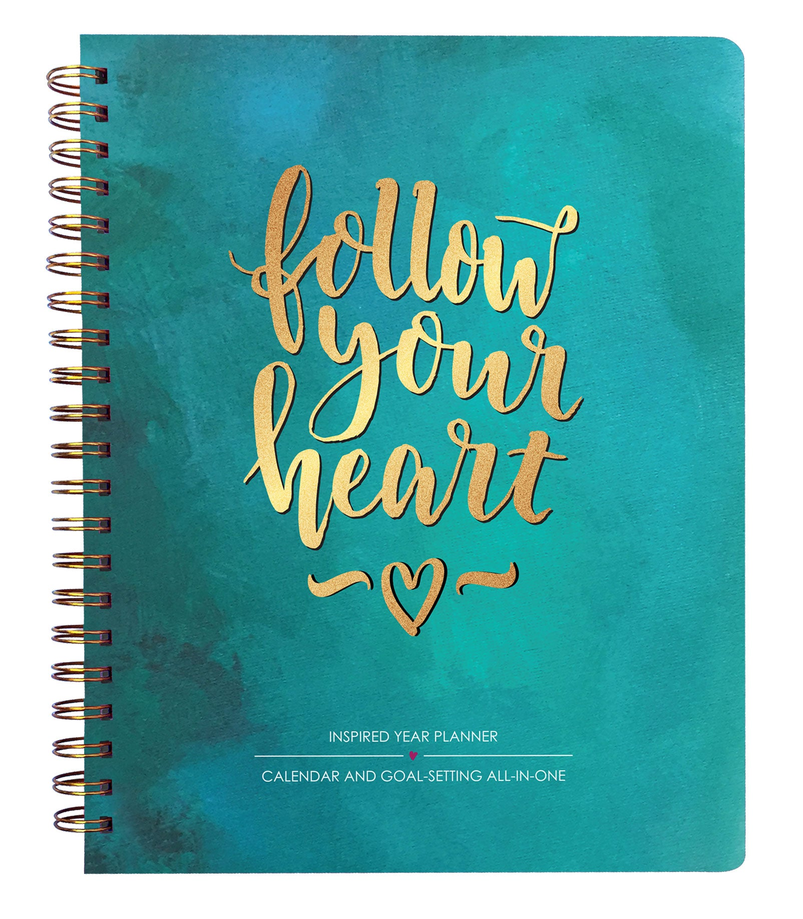 2019 calendar - Inspired Year 2019 Planner - Follow Your