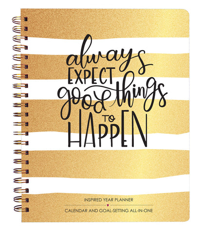 2019 Inspired Year Planner Softcover - Good Things