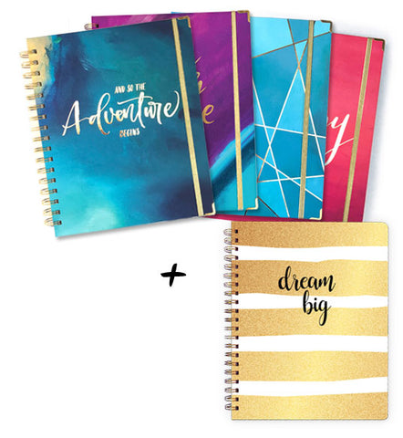 Planner + Writing Journal Bundle