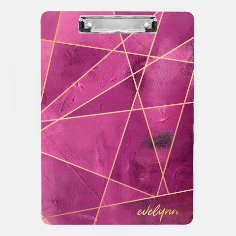 Inspired to Create Clipboard | Personalized Pink Fragment