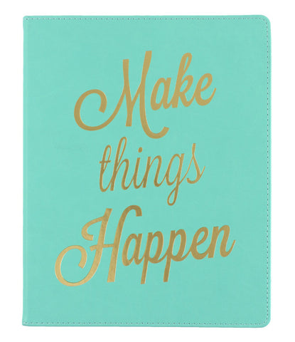 Make Things Happen Lined Journal - 8x10