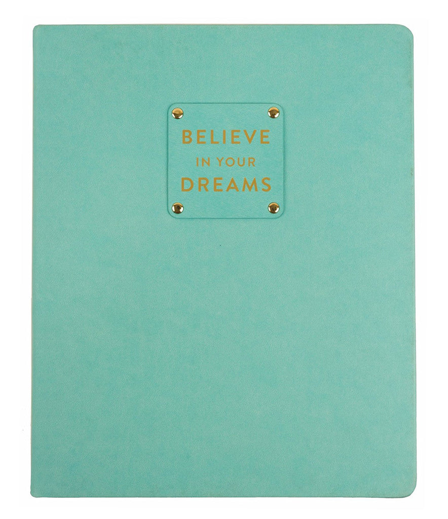 Believe in Your Dreams Lined Journal - 8x10
