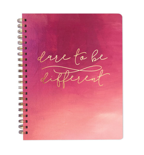Inspired to Create Dot Grid Journal - Dare to be Different