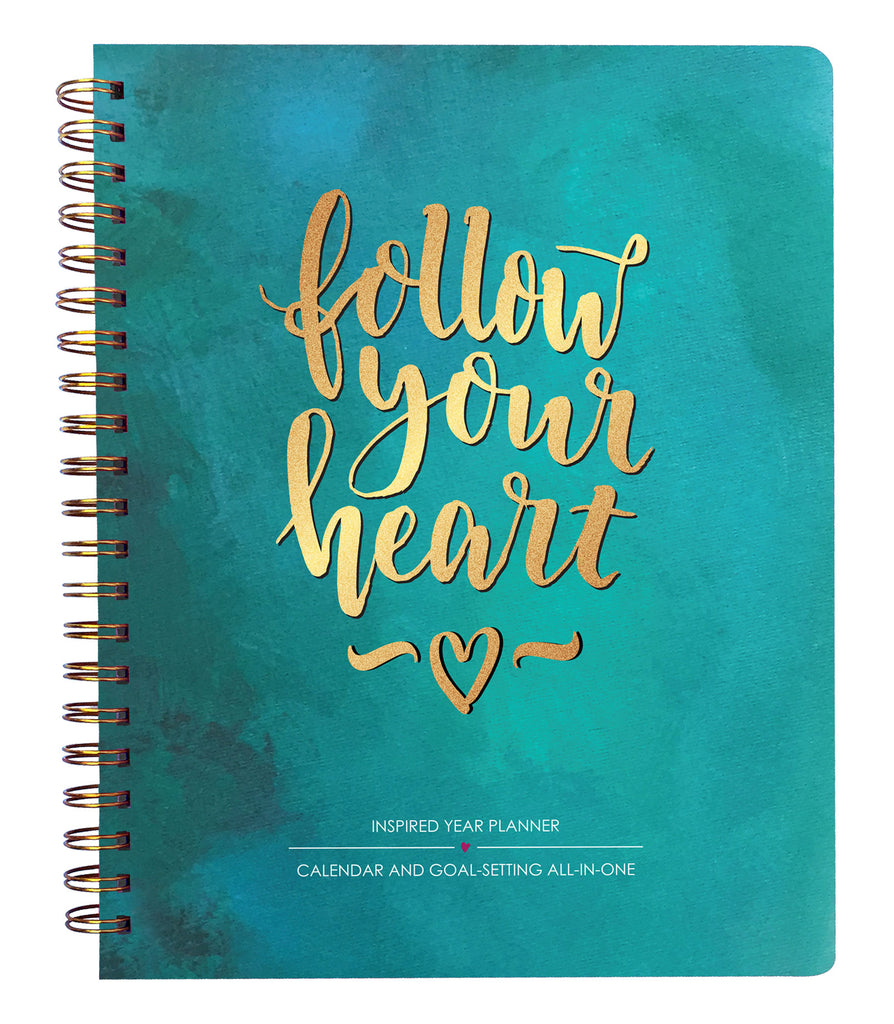 2019 Inspired Year Planner - Follow Your Heart