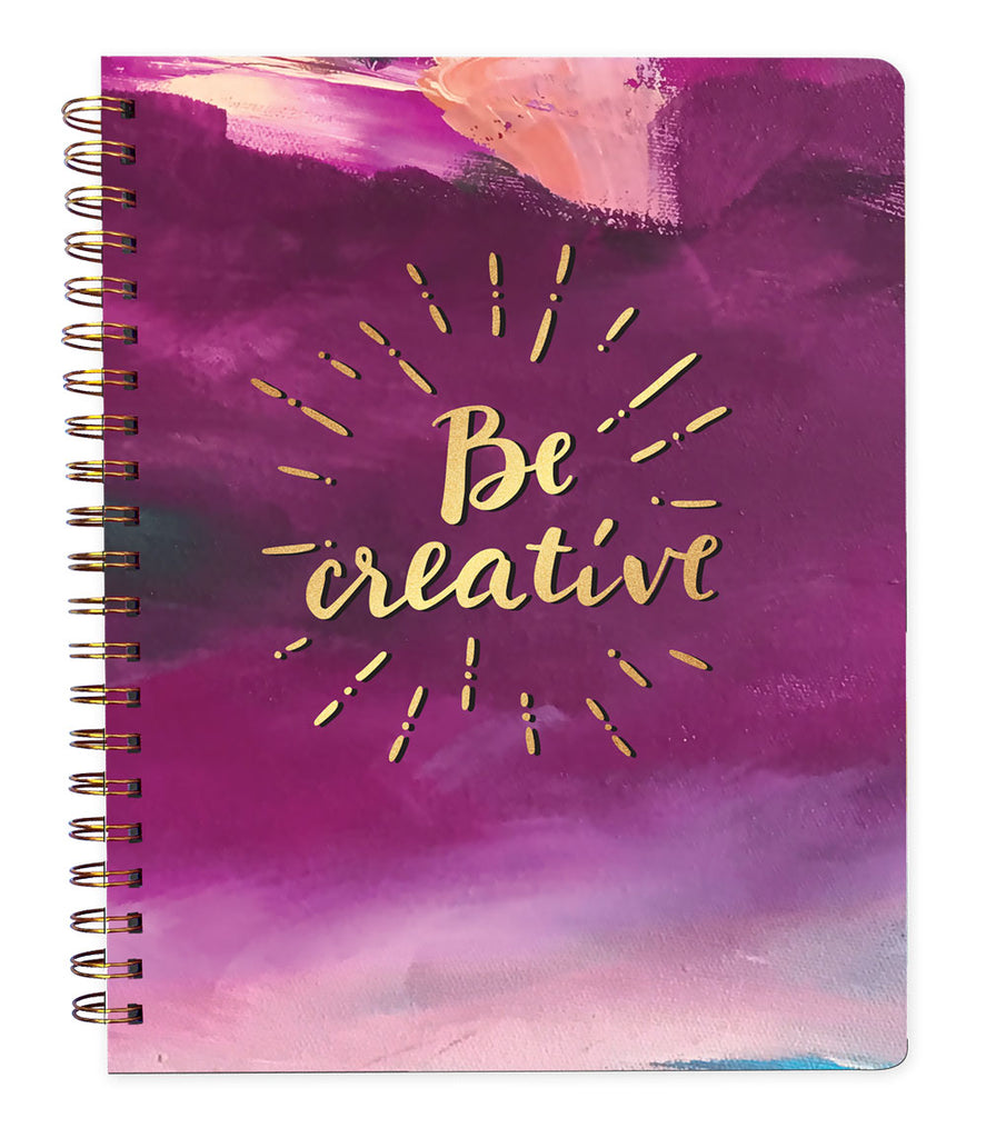 Be Creative Lined Journal