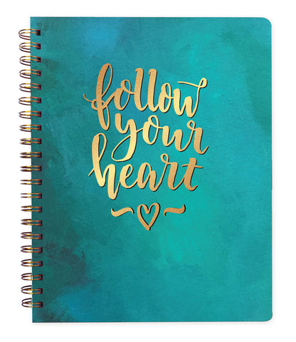 Follow Your Heart Lined Journal