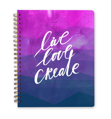 Inspired to Create Journal | Small - Live Love Create