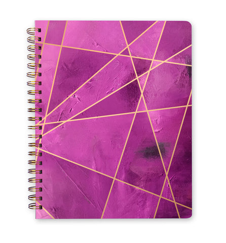 Inspired to Create Journal | Small - Fuschia Fragment