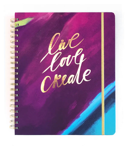 2019 Inspired Year Planner | Live Love Create Cover