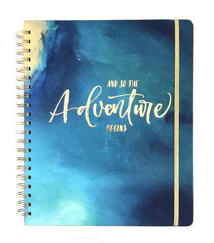 2019 Inspired Year Planner | Large - Adventure Begins