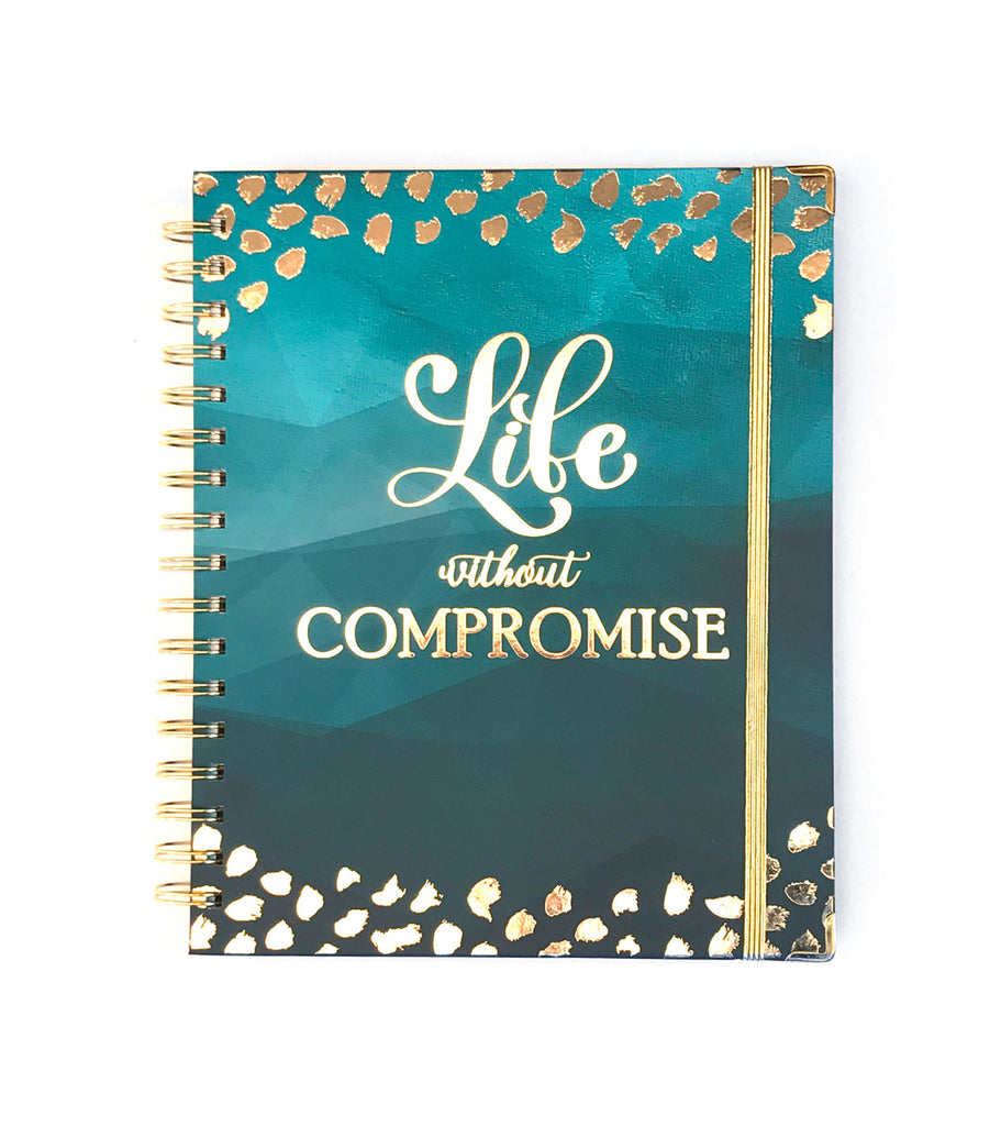 2019 Inspired Year Planner | Life without Compromise Cover