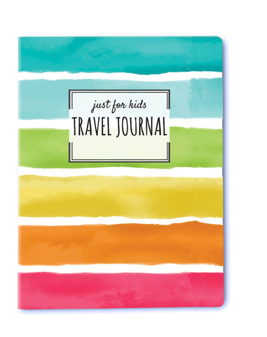 Kids Travel Journal - Saddle Stitch - Rainbow