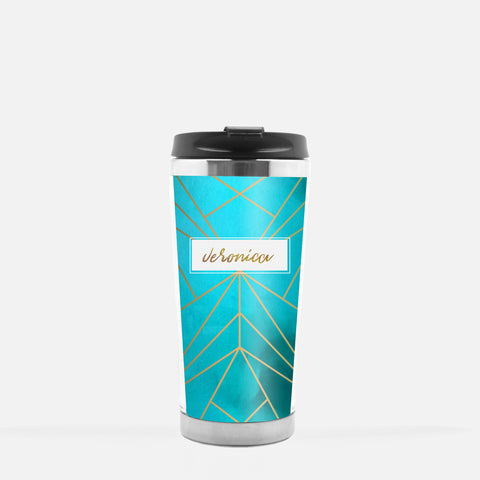 Inspired to Create Tumbler | Aqua Prism