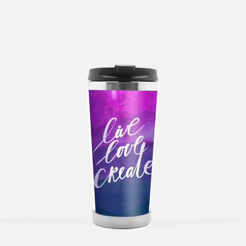 Inspired to Create Tumbler | Live Love Create