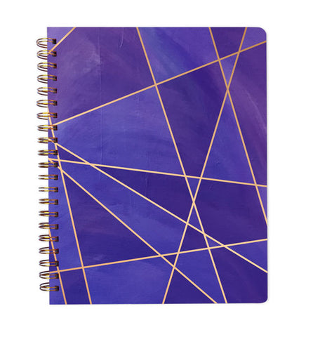 Inspired to Create Dot Grid Journal - Violet Fragment