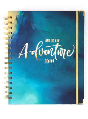 Adventure Begins - 2019 Inspired Year Planner