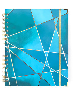 Aqua Fragment - 2019 Inspired Year Planner