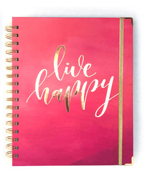 Live Happy - 2019 Inspired Year Planner