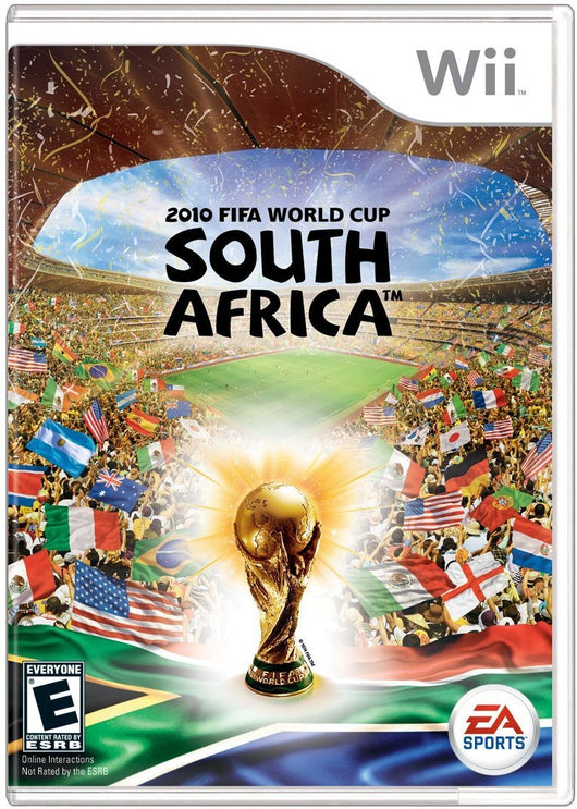 2010 Fifa World Cup South Africa Wii [Used - Like-New] - Millennia Goods