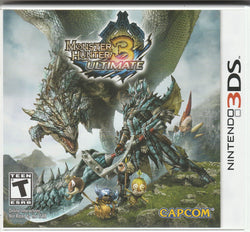 Monster Hunter 3 Ultimate 3DS [Used - Like-New] - Millennia Goods