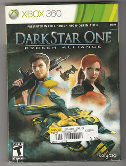 Darkstar One Broken Alliance XBOX 360 - Millennia Goods