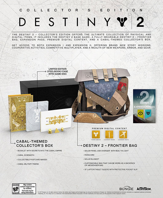 Destiny 2 Collector's Edition - PS4 - Millennia Goods