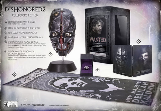 Dishonored 2 Collector's Edition - Xbox One - Millennia Goods