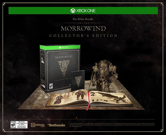 Elder Scrolls Online: Morrowind Collector's Edition - Xbox One - Millennia Goods
