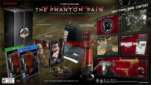 Metal Gear Solid V The Phantom Pain Collector's Edition - PS4 - Millennia Goods