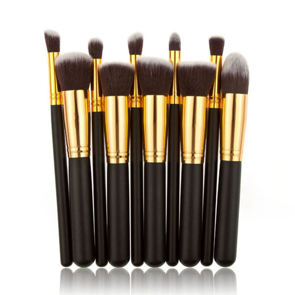 10 Pcs Contour Brush Set
