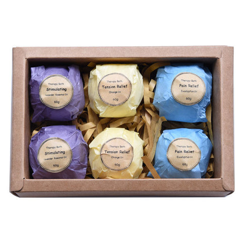 Bubble Bath Bomb, 6Pc