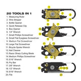 20-in-1 Pocket Tool