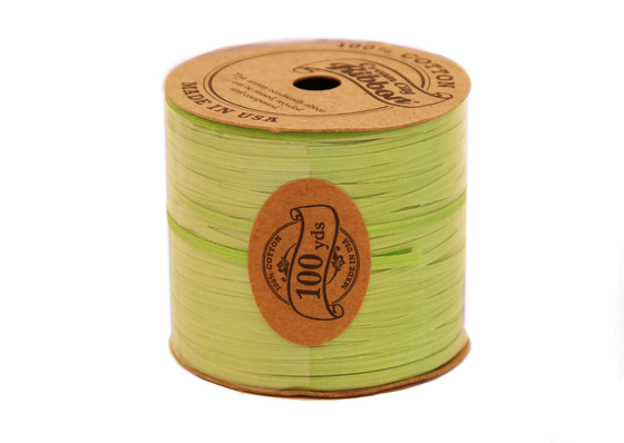 Eco Flat String-Lime (3/32)