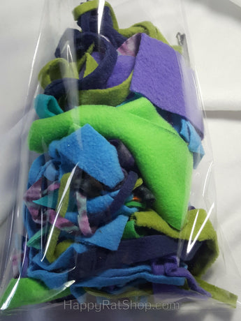 Assorted Fleece Strips (4 oz)