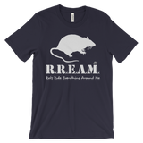 Rats Rule Everything Around Me - short sleeve t-shirt