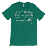 "T-Shirt ""There Are Two Kinds of People"""
