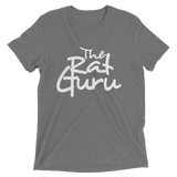 The Rat Guru White Logo Short Sleeve T-Shirt