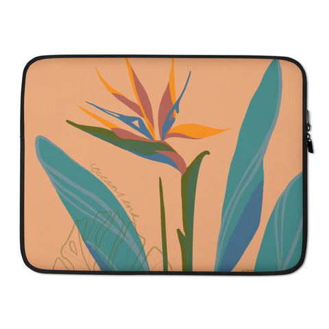 Bird of Paradise Laptop Sleeve