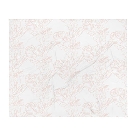 hawaii love Throw Blanket