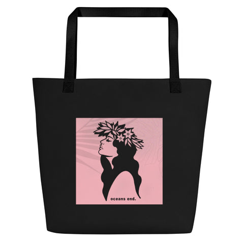 Hula Girl Beach Bag