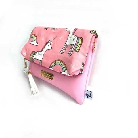 Unicorn Pink crossbody
