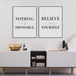 Nothing is Impossible. Believe in Yourself-itsSOYU-SOYU-itsSOYU-add to cart-shop