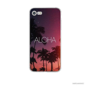 Summer Cover Case For iPhone • 7 Models-itsSOYU-Aloha-for iphone 5 5s se-SOYU-itsSOYU-add to cart-shop