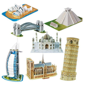 Wonders of the World 3D Puzzle-itsSOYU-SOYU-itsSOYU-add to cart-shop