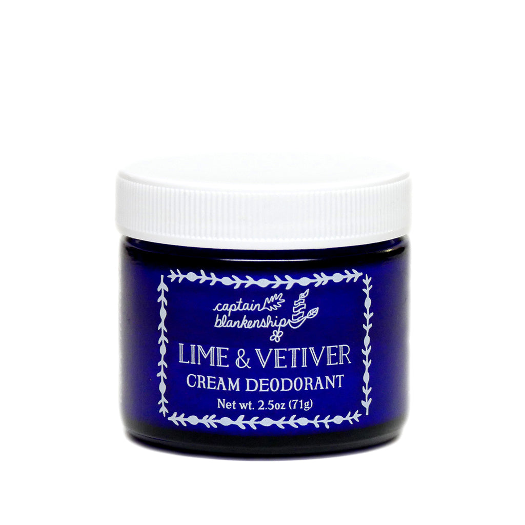 Lime & Vetiver Cream Deodorant - True Beauty Collective